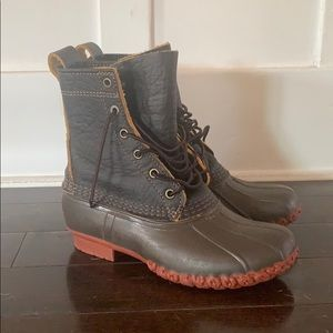 """NWOT Limited Edition L.L. Bean 8"""" Duck Boots"""